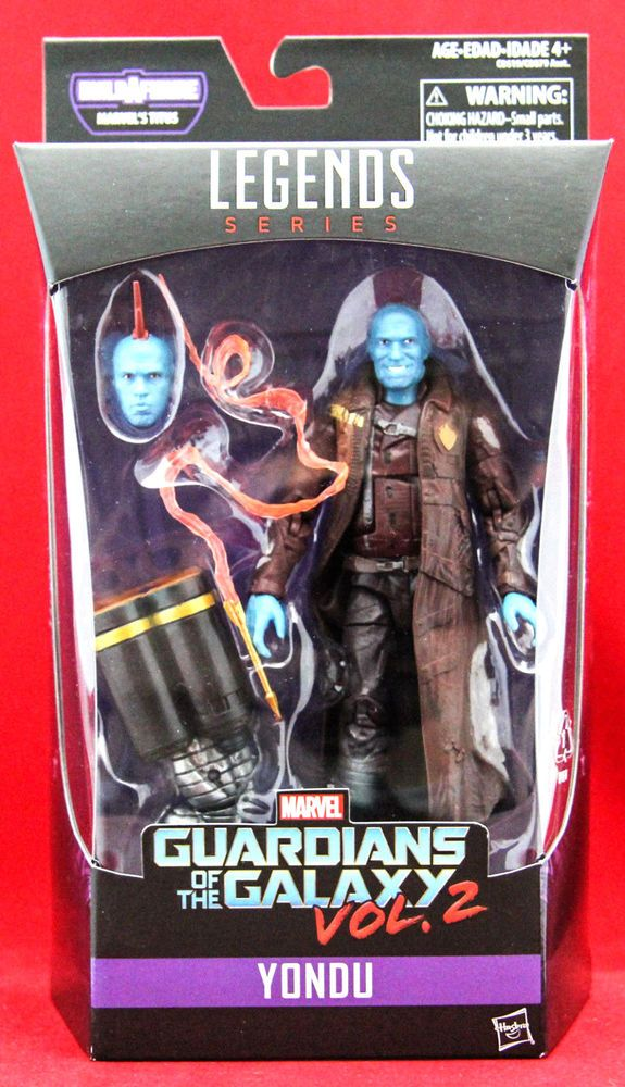 "Marvel Legends YONDU Guardians of the Galaxy Vol. 2 6"" Action Figure BAF TITUS #Hasbro"