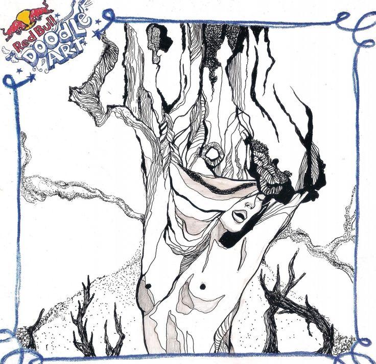 red bull doodle art Haris Hidayat