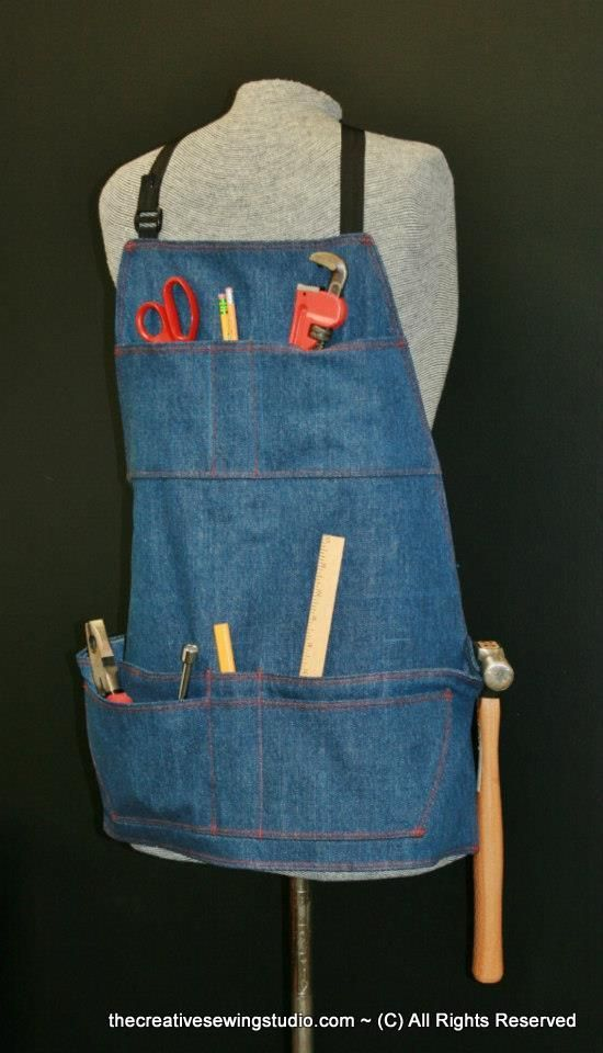 This Men's Work Apron can also be made for a women and has ...