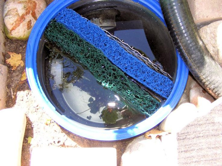 17 best images about koi pond filters on pinterest for Best homemade pond filter media