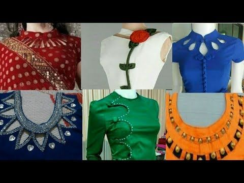 Latest Beautiful Neck Design For Kurti Suit Kameez Cutting And