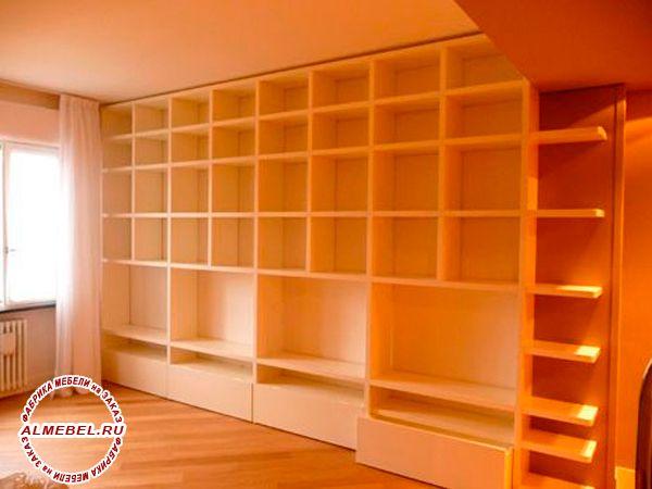 Офисные стеллажи на заказ | изготовление офисных шкафов ...