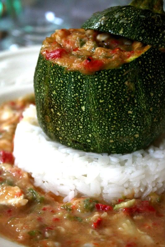 Goat Cheese & Ratatouille Courgette | food | Pinterest