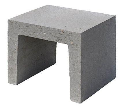 betonnen u element