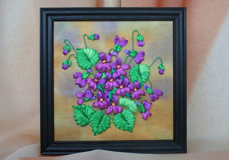 Fiołki - violet