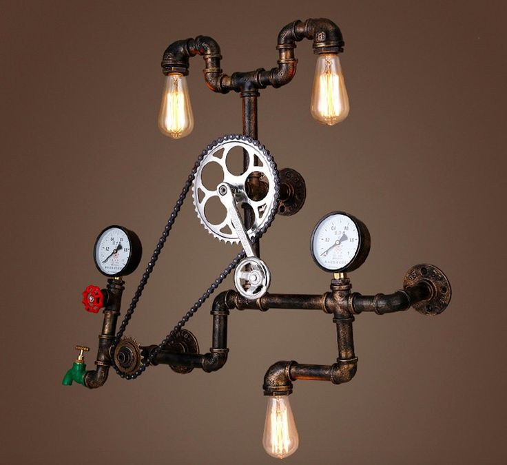 Find More Plaques & Signs Information about 80x80cm  Retro Industrial Pipe Wall  Lamp Restaurant Bar Head Personality Loft Axle Decorative Wall Lamp,High Quality wall lamp modern,China lamp quartz Suppliers, Cheap lamp restaurant from Aliexpress Biggest Hand Tools Accessories Market on Aliexpress.com