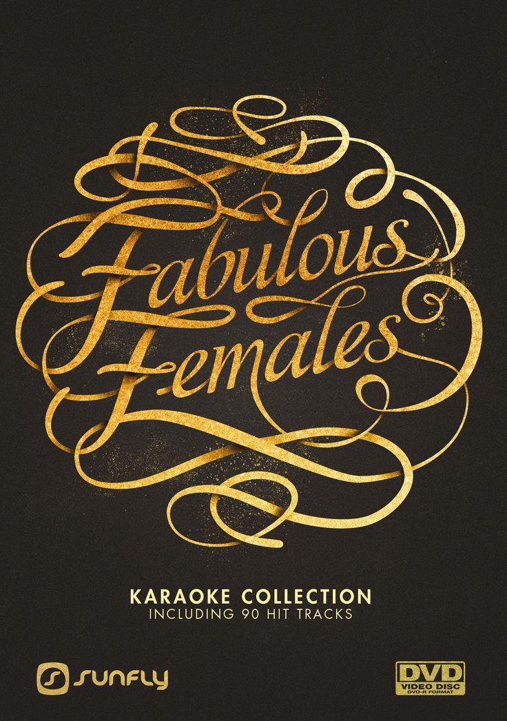 Sunfly Karaoke Fabulous Females DVD Collection