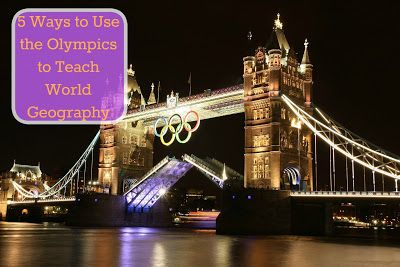 Using the Olympics to Teach World Geography
