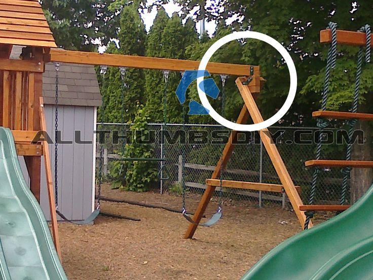 the 25 best backyard swing sets ideas on pinterest backyard swings kids gardening set and swing set brackets