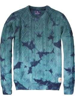 Scotch and Soda men's knit... saw it I  store today and I want it! The dye is much more subtle in person. $210... Now $126