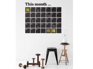 muursticker this month...