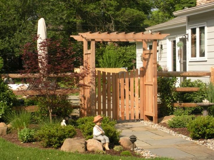 25 best ideas about portillon bois on pinterest portail for Portail jardin bois