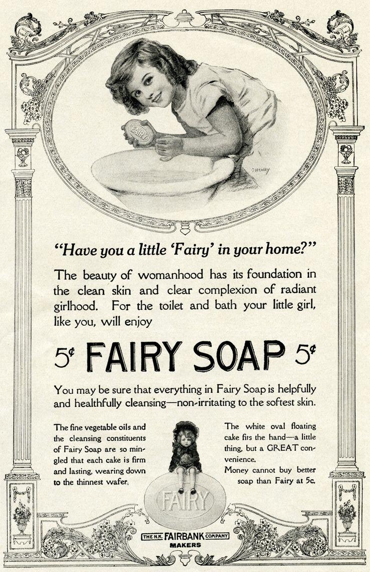FREE Vintage Fairy Soap Ad | Old Design Shop Blog
