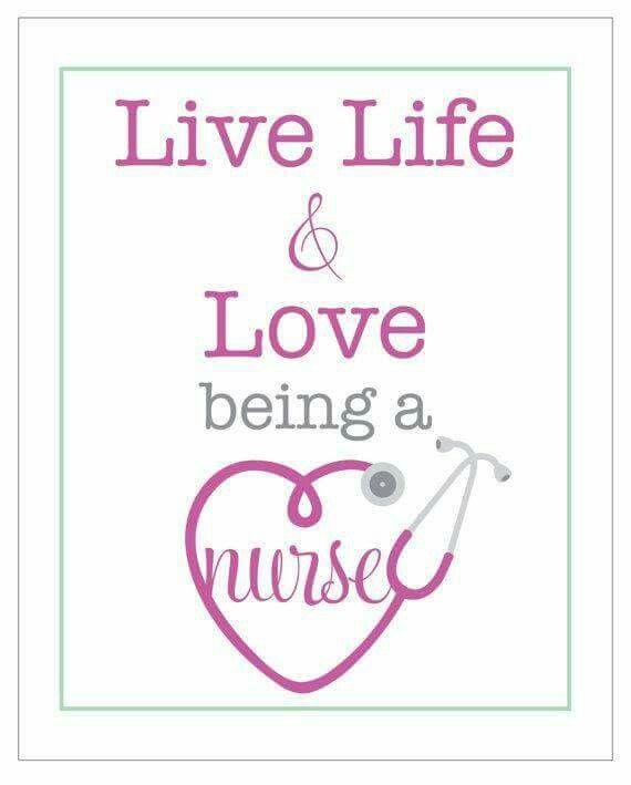 Love being a nurse!