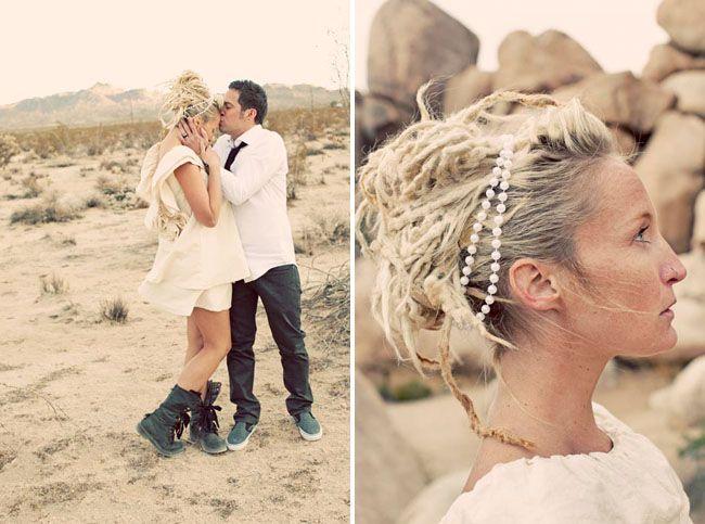 Joshua Tree Elopement Briana Chad Wedding UpdoWedding