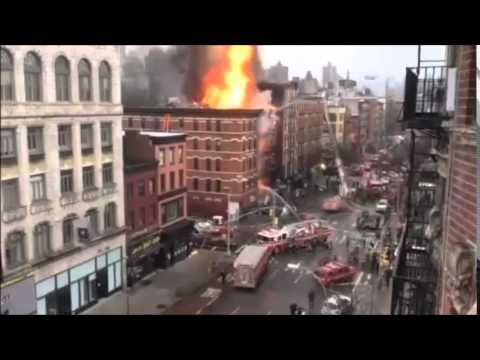 MANHATTAN'S EAST VILLAGE EXPLOSION NYC