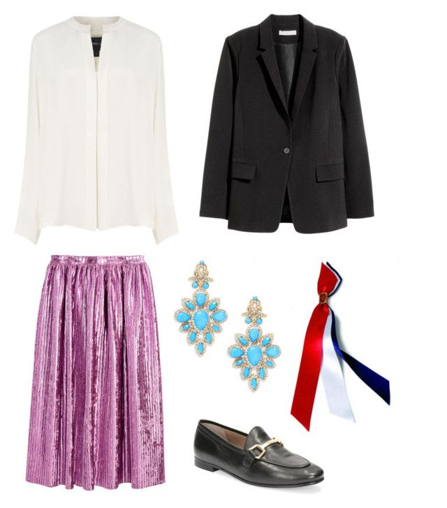 """17. mai #1 "" by stinasolheim on Polyvore featuring H&M, Derek Lam and Cara"