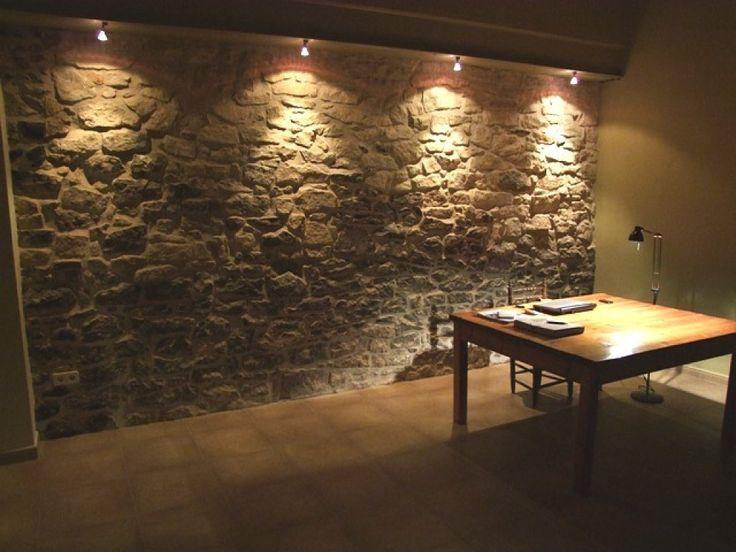 con le pareti in pietra ero abituata alle canaline esterne