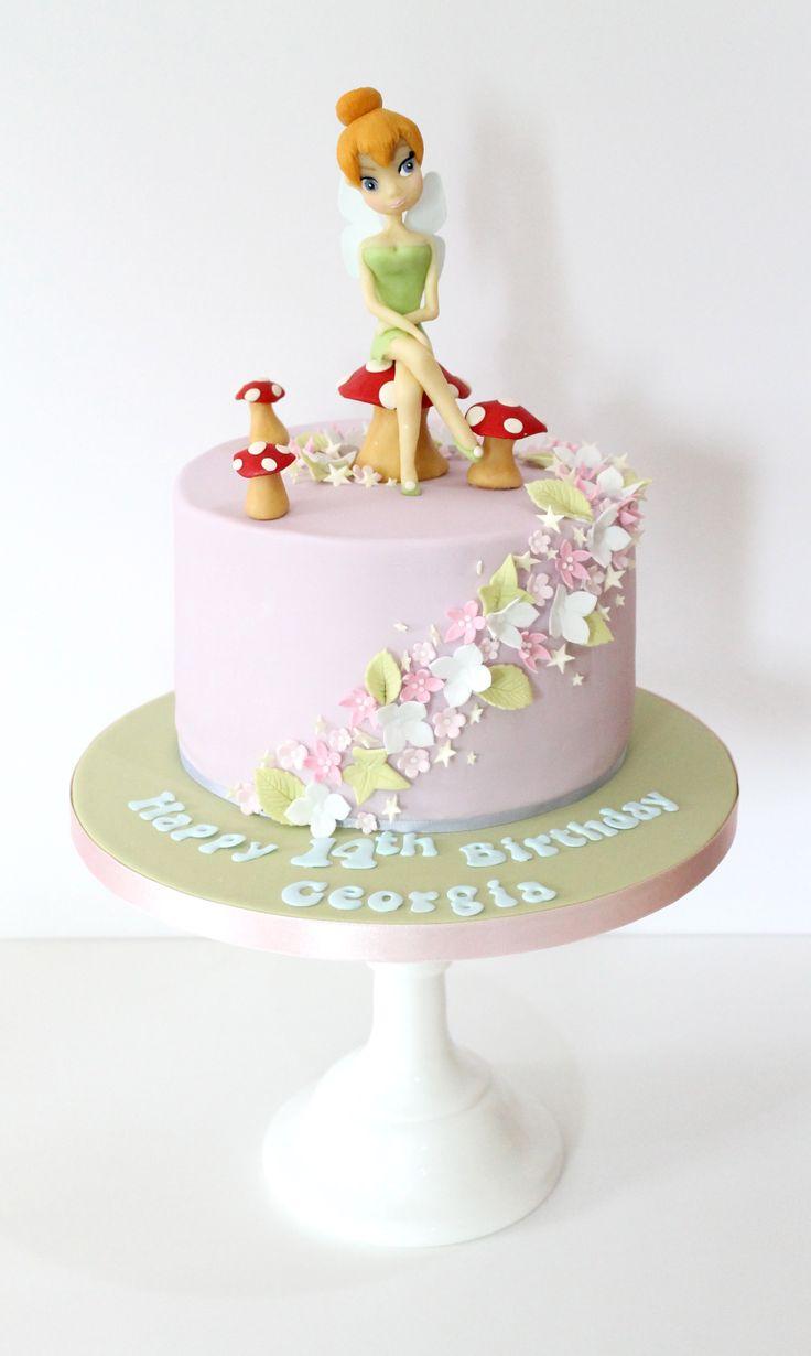 Fairy Mushroom Birthday Cakes