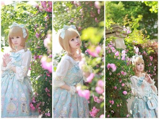 #Cute #Kawaii #Lolita #LolitaFashion #SweetLolita #LolitaMode #LolitaStyle #JapaneseMode #Girl #Dress