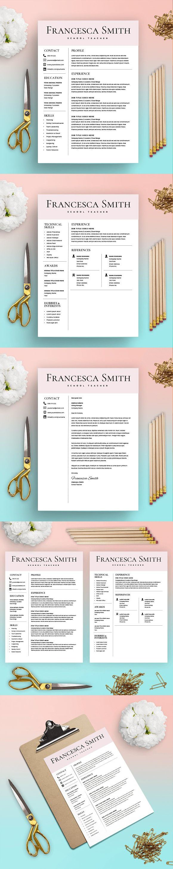 Resume Template - FREE Cover Letter. Resume Templates