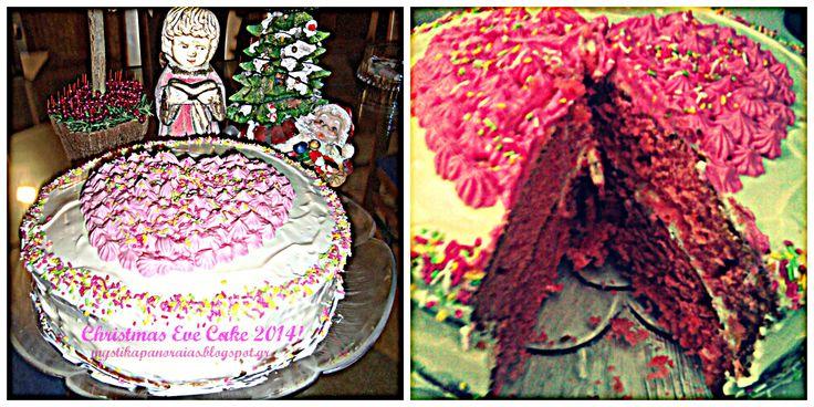 Christmas Eve Cake 2014!! http://mystikapanoraias.blogspot.gr/2013/12/blog-post_28.html