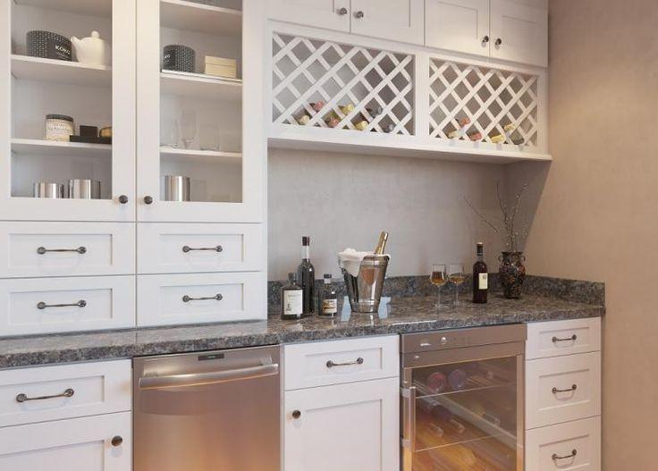 Best Aspen White Shaker Rta Bar Room Cabinets Kitchen 400 x 300