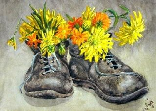 Старые ботинки - Стихи Для Людей - автор: vonafurt