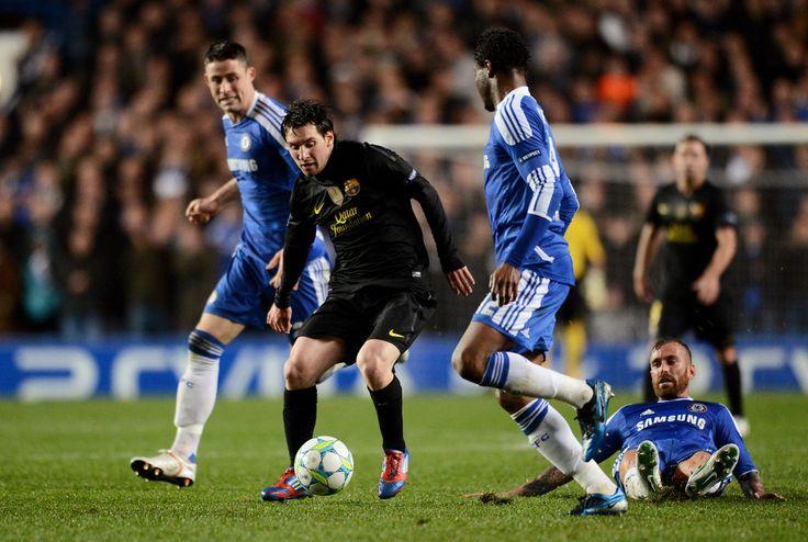 Lionel Messi Photos: Chelsea FC v Barcelona - UEFA Champions League Semi Final