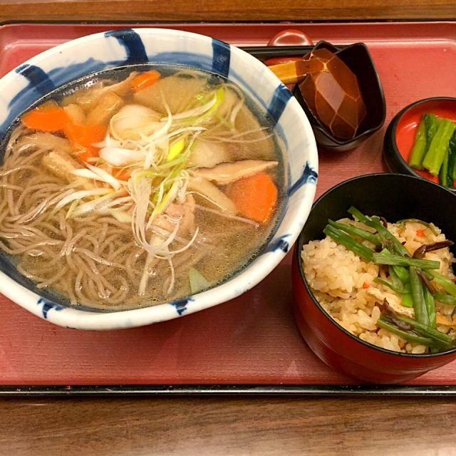 #osaka #japon #aeropuerto #kix - 15件のもぐもぐ - けんちんそば定食 by maixx ใหม่