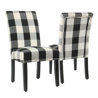 Buffalo Plaid Dining Chairs | Vintage Dining Room | # ...