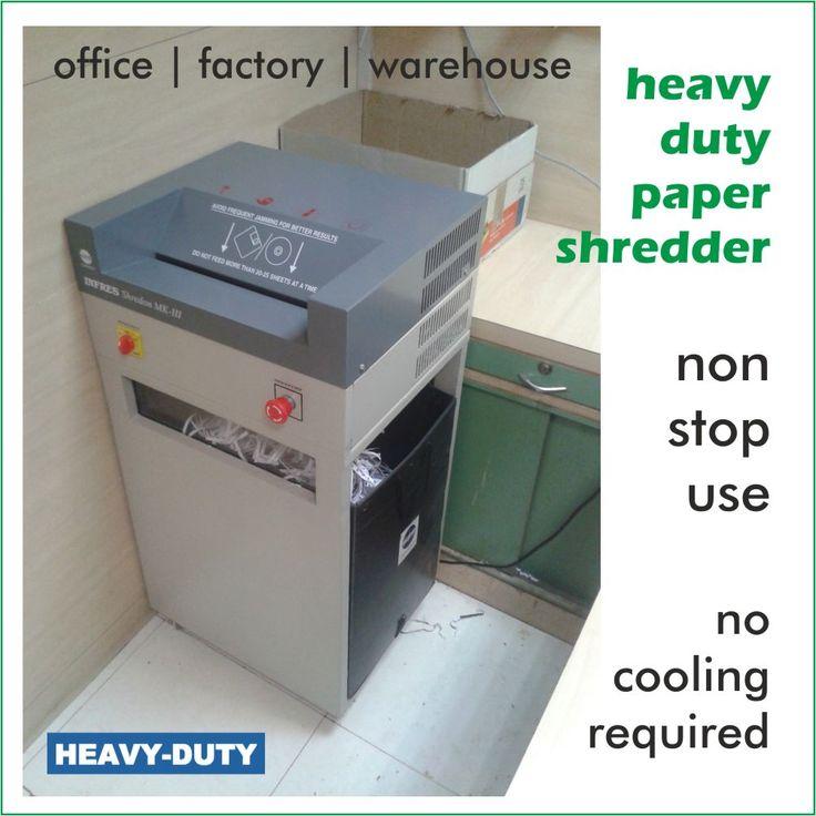 Heavyduty paper shredder Paper shredder, Company paper