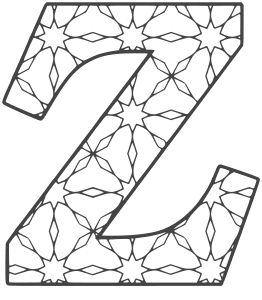 free printable alphabet coloring pages letters and