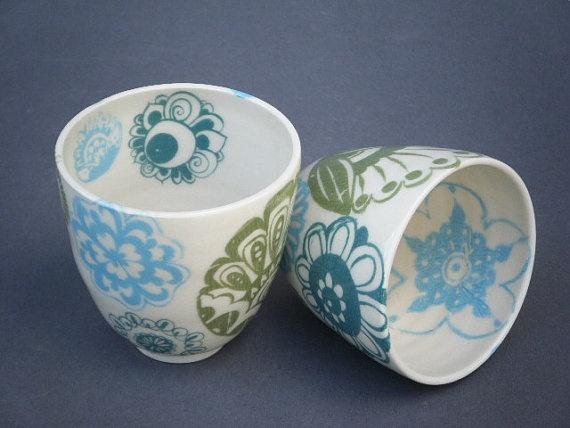 I adore Spun Mud's ceramics.