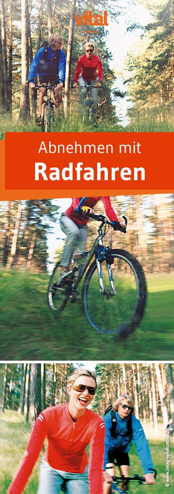 Nie war Abnehmen so einfach: schlank und fit mit Radfahren - so geht es.