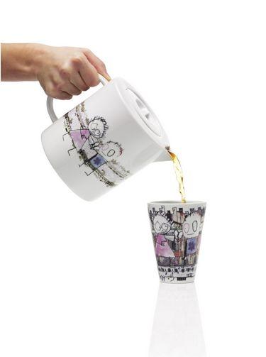 Poul Pava tea pot 1,7 Liter