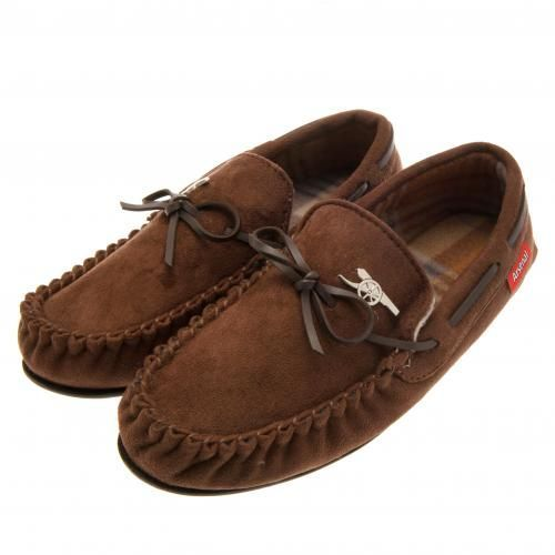 Stylish Arsenal moccasins with a luxury soft insole and featuring a metal club crest badge. FREE DELIVERY on all of our gifts