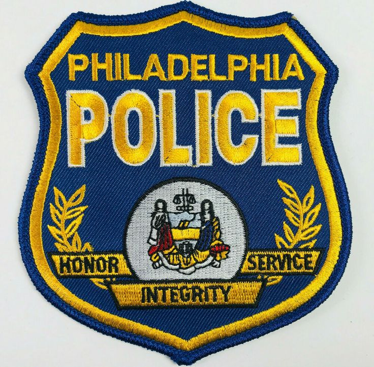 Details about philadelphia police pennsylvania patch in