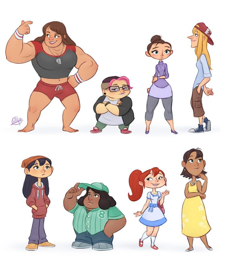 Character Design Reference Facebook : Best character design line up images on pinterest