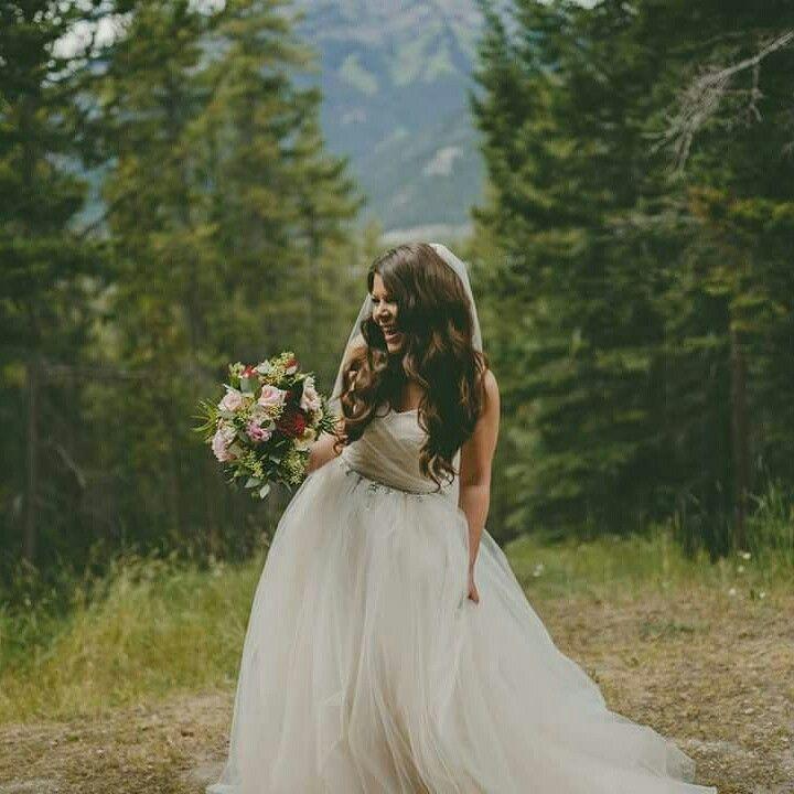 Romantic bride!