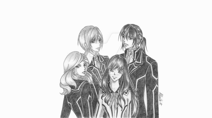 Going on by Reika77.deviantart.com on @DeviantArt #vampireknight #fanart #anime #manga #kuran #kiryu #ren #ai