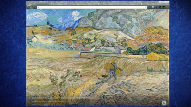 Google Art Project Puts an Art Masterpiece on Every New Chrome Tab