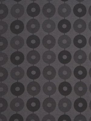 A Modern Upholstery Fabric In A Geometric Chain Link Design Of Dark And  Light Charcoal Grey