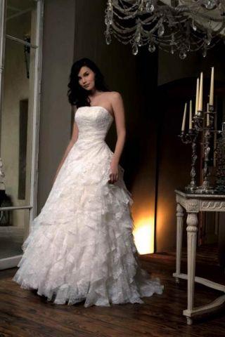 Layered Organza Wedding Gowns for Formal Wedding Attire