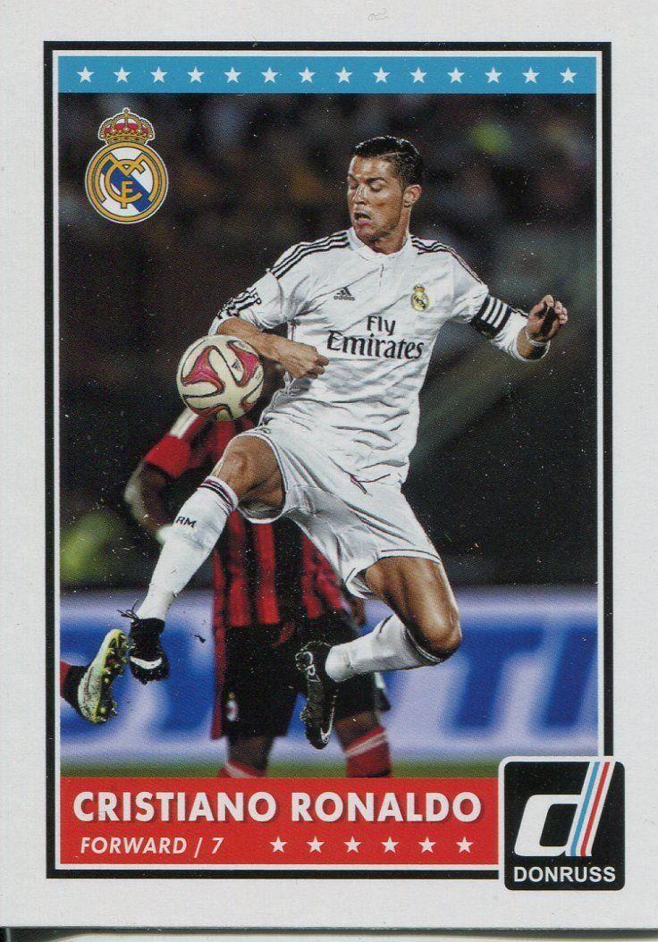 Donruss Soccer 2015 Base Card 1 Cristiano Ronaldo Amazon