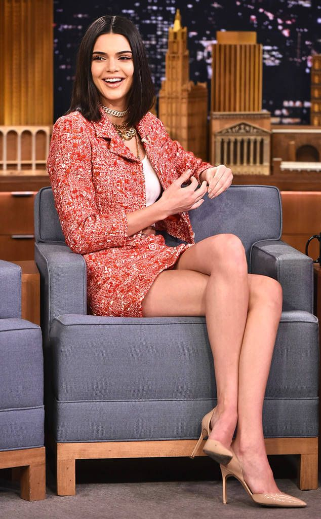 Kendall Jenner from The Big Picture: Today's Hot Photos  The reality star and model takes time from her busy schedule to stop byThe Tonight Show Starring Jimmy Fallonin New York City.