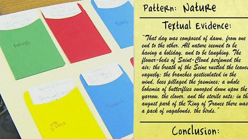 A pattern stylistic analysis of the