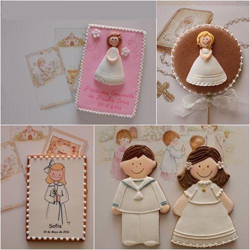 Especial Primera Comunión: la tarta y los cupcakes | DecoPeques -Decoración infantil, Bebés y Niños