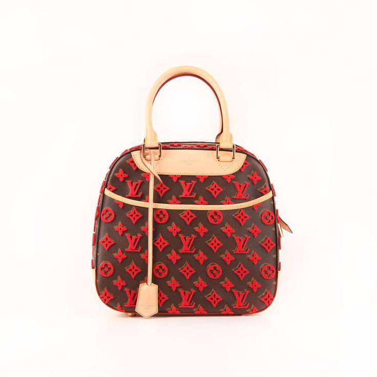 Louis Vuitton. Tuffetage Deauville Cube Rouge.