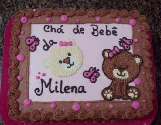 Pint272890058655991387 20 De 60 Ideias De Bolo De Cha De Bebe De
